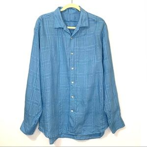 Tommy Bahama Linen Casual Button Down XL